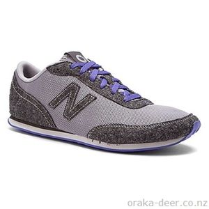 Women's blue and gray wool new balance sneakers